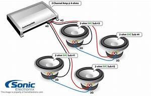 2 Channel 4 Speakers Wiring Diagram Free Download