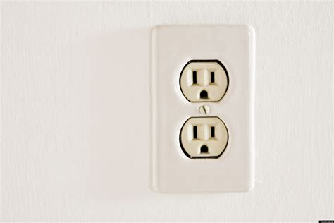 l post electrical outlet a solar powered plug that sticks to windows and out from
