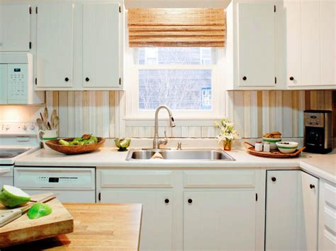 kitchen with backsplash idea do it yourself diy kitchen backsplash ideas hgtv 6490