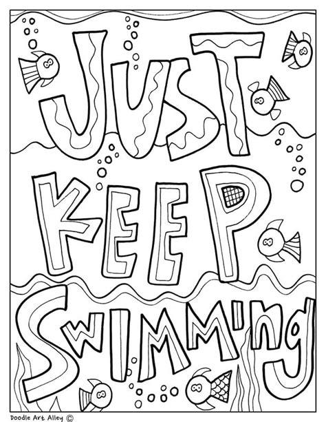 testing encouragement classroom doodles testing encouragement coloring book pages cat