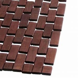 Tapis En Bois : tapis imitation bois awesome tapis de cuisine marron with ~ Teatrodelosmanantiales.com Idées de Décoration