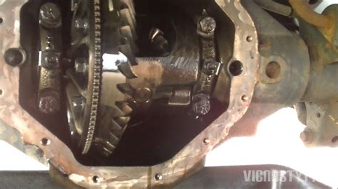 replacing  gear oil   rear diff  dodge dakota