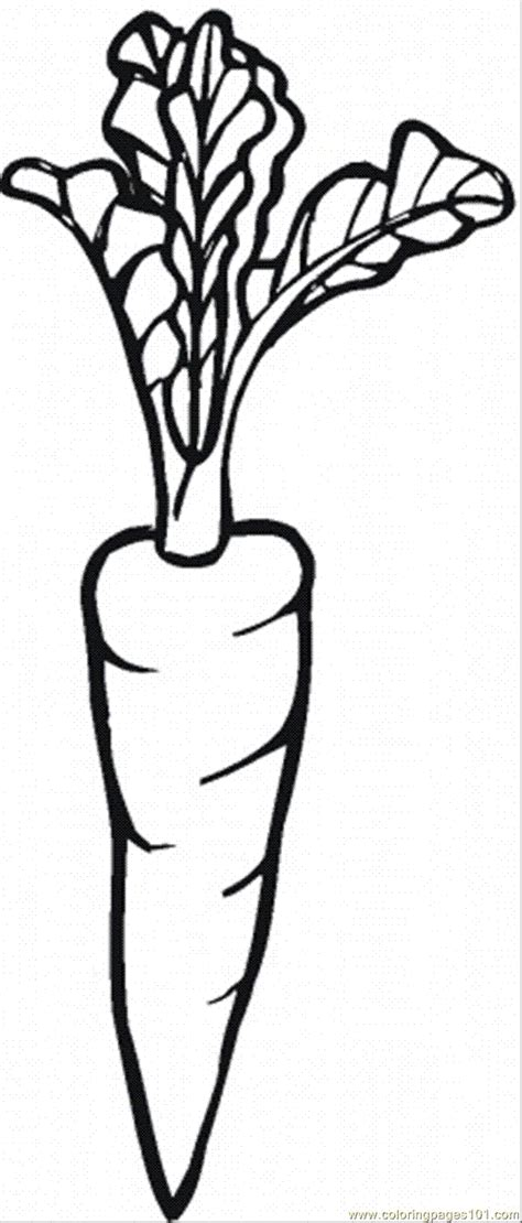 Coloring Carrot by Coloring Pages Carrot 25 World Gt Vegetables