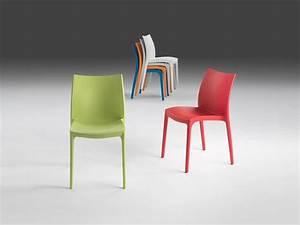 Lammfell Für Stühle : stapelstuhl aus kunststoff f r innen und au enbereich ~ Michelbontemps.com Haus und Dekorationen