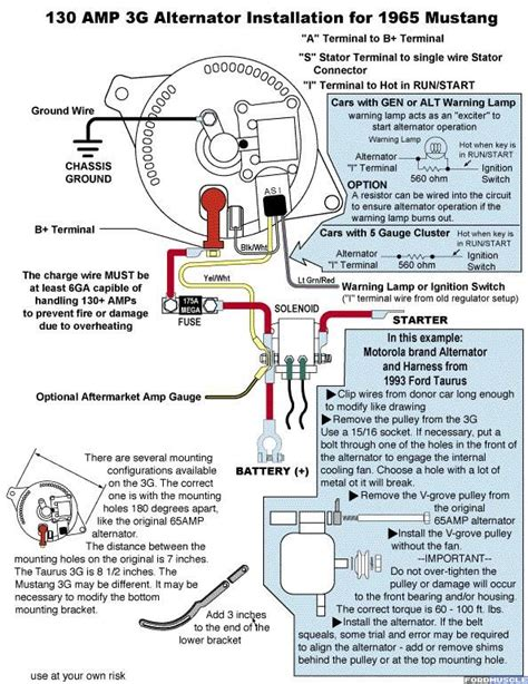 Ford Truck Alternator Diagram by 1976 Ford Alternator Wiring Diagram Wiring Diagram