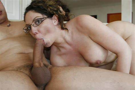 Granny In Glasses Toys And Throating