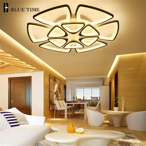 Led Lights In Dining Room by White Modern Led Chandelier For Living Room Dining Room