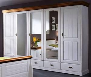 Schlafzimmer Komplett Schrank 5trig Bett Landhausstil