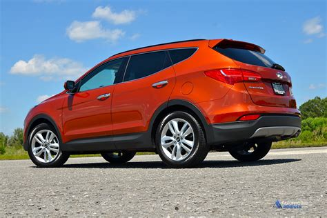 Hyundai Santa Fe Turbo by 2015 Hyundai Santa Fe Sport 2 0 Turbo Fwd Review Test Drive
