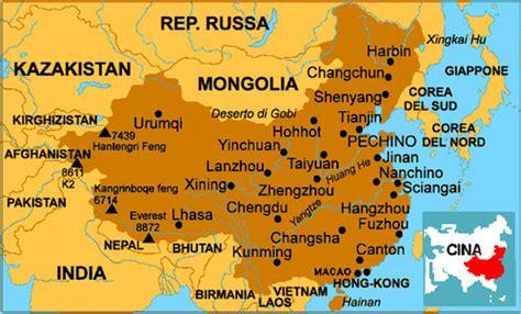 Cartina Hong Kong.Cartina Politica E Fisica Travellin Download 827 565 Cina Cartina 37arts Net