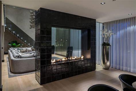 chic ways  revamp  fireplace