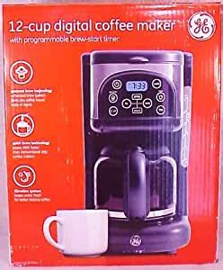 Multiple cup coffee makers are economical because they lessen any waste associated with brewing coffee. Amazon.com: Ge 12-cup Digital Coffee Maker: Drip Coffeemakers: Kitchen & Dining