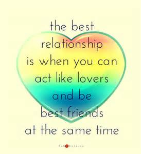 Best Friend and Lover Quotes