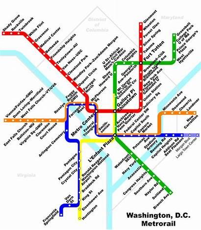 Dc Metro Map Wash Getting Around Washington