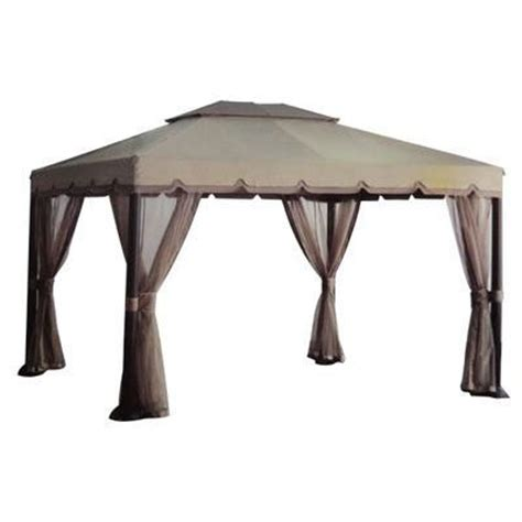 Backyard Canopy Home Depot by Home Depot Gazebo Replacement Canopy Images