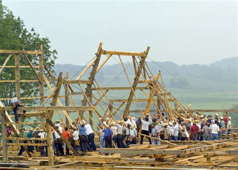 Amish Barn Raising by Food For A Barn Raising A Recipe For The Best