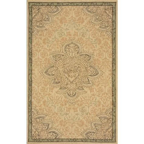 momeni terrace medallion earth 8 ft x 10 ft indoor
