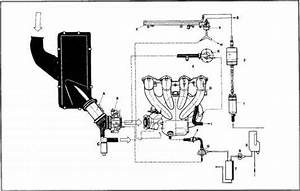 Fuel Vacuum Line Routing Engine Type M 444344