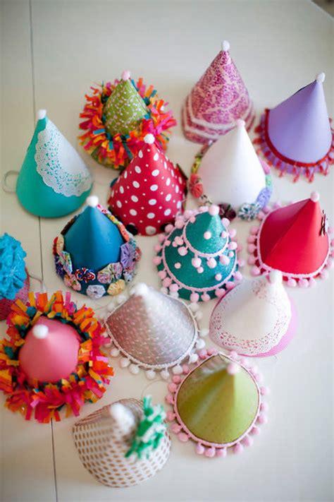 diy birthday party hats handmade charlotte