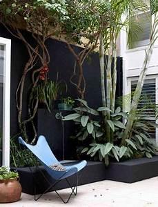 les 25 meilleures idees de la categorie murs en parpaings With ordinary decoration mur exterieur jardin 4 creer un mur vegetal en interieur