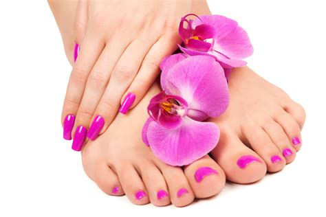 The Health Benefits Of A Manicure And Pedicure