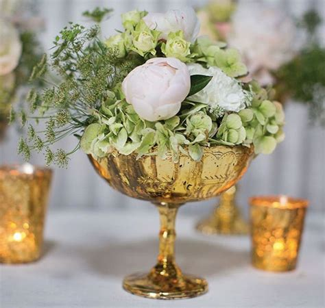 Mercury Vases Wedding - pin by emerald events on judy and phil gold wedding