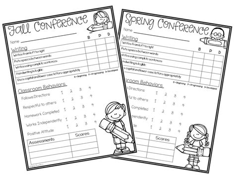 parent teacher conference for preschool hoppin preppin for conferences freebie 862