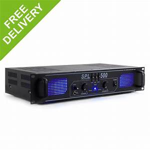 SPL 500W Home Stereo HiFi Amplifier Mobile DJ Disco Party