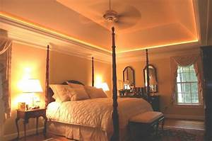 Love The Idea Of Installing Crown Molding And Rope Lights