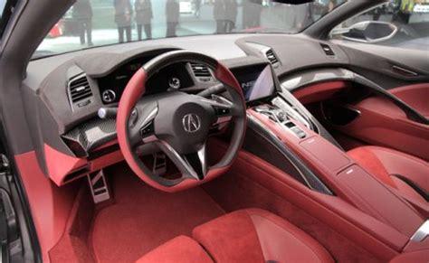 interior dashboard mobil honda nsx detailmobilcom