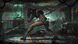 warrior, , fantasy, art, , futuristic, wallpapers, hd, , , , desktop, and, mobile, backgrounds