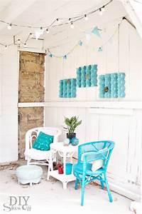 Easy diy indoor outdoor honeycomb wall artdiy show off
