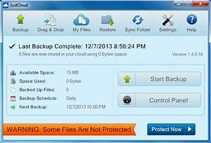 justcloud provides secure cloud backup with unlimited storage With cloud backup documents