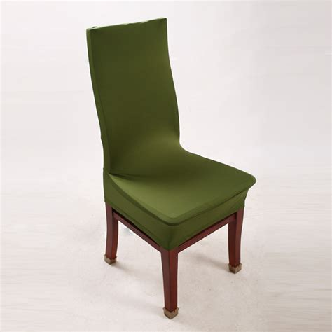 green chair covers lycra spandex stretch chair for kitchen