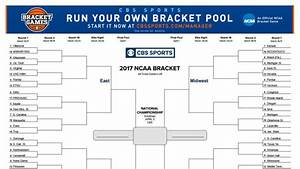 Ncaa Bracket To Fill Out Online Thousands Of People Complained About Cbs 39 Bracket Site