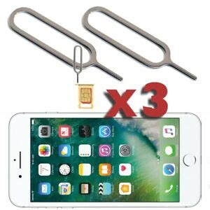 sim card pin ejector removal opener tool  apple iphone