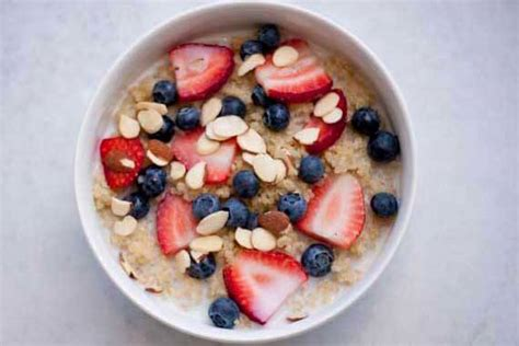 Clean Eating Breakfast Quinoa Recipe