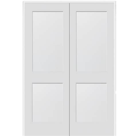 Depot 2 Panel Interior Doors by Mmi Door 73 5 In X 81 75 In Primed 2 Panel Flat