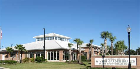 orange county library system winter garden branch