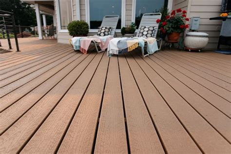 composite decking envision evergrain weathered wood