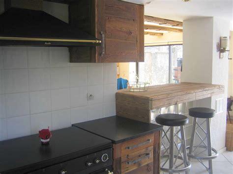 cuisine en bois frene cuisines bois contemporainesmenuiserie agencement gerard