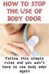 Stop body odor teens
