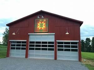 gooseneck barn lighting brings focus to kentucky barn With exterior lighting on pole barn