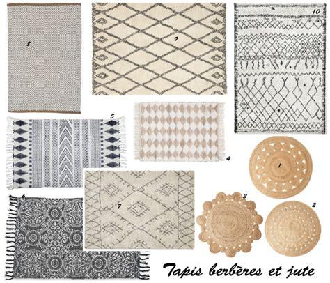 tapis rond en rotin idees de decoration interieure
