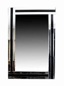 absolutely stunning rectangular art deco mirror 120 x 90 With miroir 120 x 90