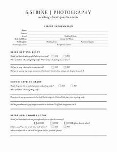 sstrine photography wedding questionnaire by sstrine With wedding photography client questionnaire pdf