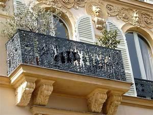 Rambarde Fer Forgé : paris balcons fer forg rambarde et balustrade ~ Dallasstarsshop.com Idées de Décoration
