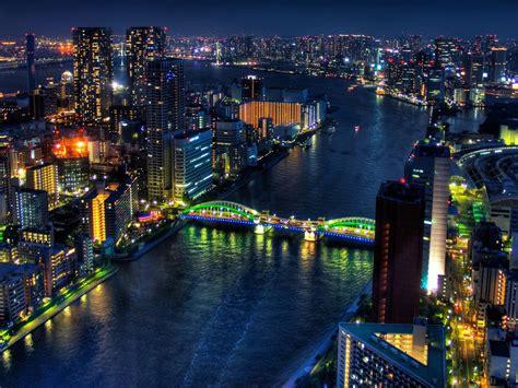 night tokyo japan city  wallpaperscom