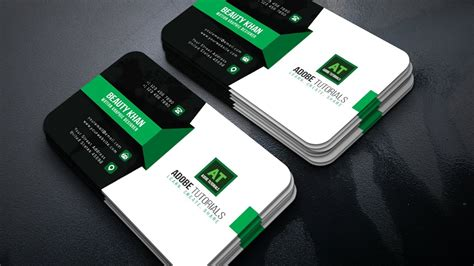 Corporate Green Business Card Free Business Letterhead Design Templates Cards Google Docs Card Law Firm For Teachers Font Size Moo In Psd Format Ai