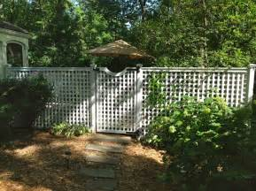 Patio with Privacy Fence